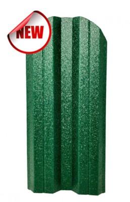 Метална ограда еднолицева – цвят Зелен RAL 6005 Hi-Mat
