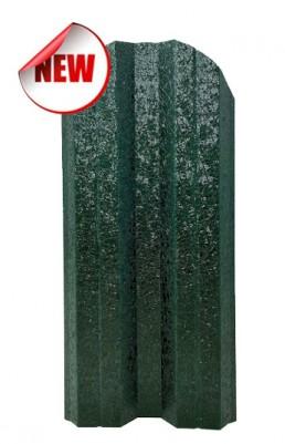 Метална ограда еднолицева - цвят Зелен
