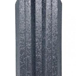Метална ограда еднолицева Hi-Mat Тъмно сив 7024