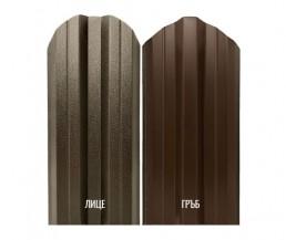 Метална ограда еднолицева – цвят кафяв RAL 8019 Мат (BGM)