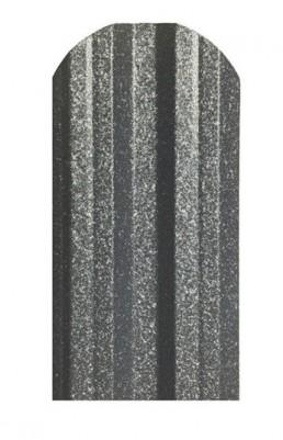 Метална ограда еднолицева Hi-Mat с матов ефект цвят Сив