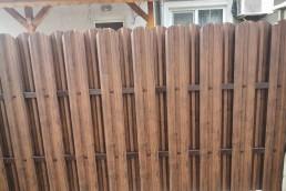 Метална ограда от поцинковани профили