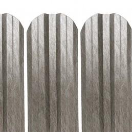 "Метална ограда еднолицева – цвят ""Кварц"""