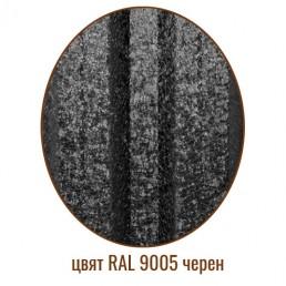 Еднолицев Хай Мат 9005 черен 0,5мм