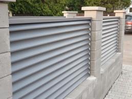 """Декоративни ламели за ограда цвят """" Кварц"""