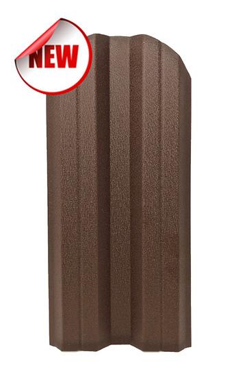 Метална ограда еднолицева – цвят RAL 8017 Hi-Mat