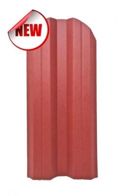 Метална ограда еднолицева – цвят RAL 3011