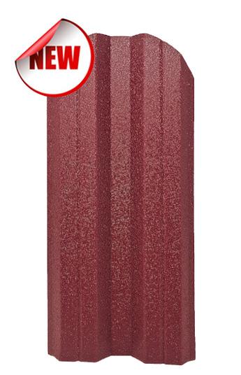 Метална ограда еднолицева – цвят Вишна