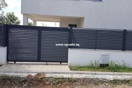 Декоративни ламели за щори за ограда цвят РАЛ 7024