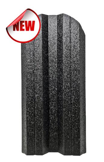 Метална ограда еднолицева – черен RAL 9005 Hi-Mat