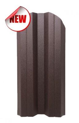 Метална ограда двулицева Мат /BGM/ цвят RAL 8017