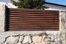 Декоративни ламели за ограда