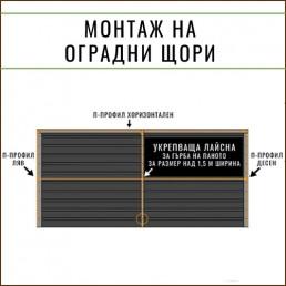 Банер за оградни щори